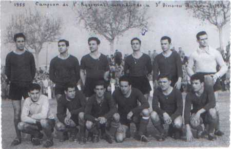 Equip que va assolir l'ascens a 3a. Divisió Nacional