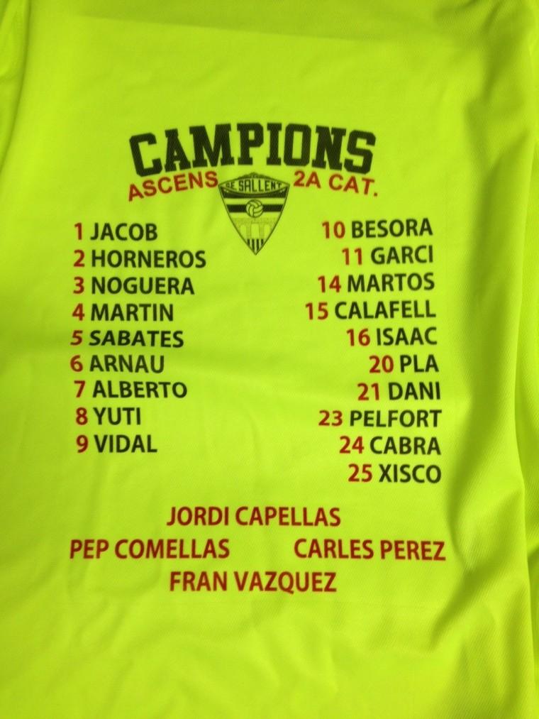Camiseta Campions Darrera